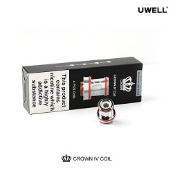 Uwell Crown 4 Replacement Coils - 4 Pack